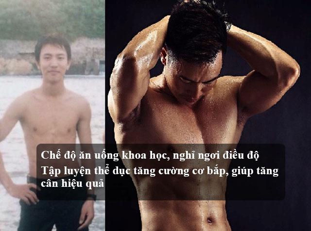 Cách tăng cân cho nam giới hiệu quả
