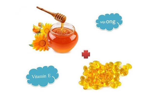 Dưỡng da bằng vitamin E và Mật ong