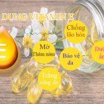5 Tác dụng dưỡng da bằng vitamin E và cách sử dụng vitamin E