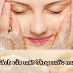 Nên hay không rửa mặt bằng nước muối sinh lý để làm đẹp