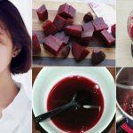 Mẹo dưỡng môi hồng bằng củ dền tự nhiên tại nhà
