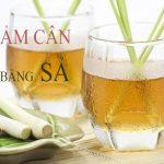 Mẹo giảm mỡ bụng bằng nước sả và dầu dừa dễ dàng
