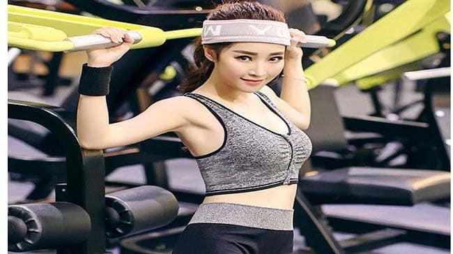 Tập gym tăng cân cho phụ nữ