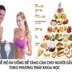 Món ăn tăng cân cho người gầy – Thực đơn 7 ngày hiệu quả