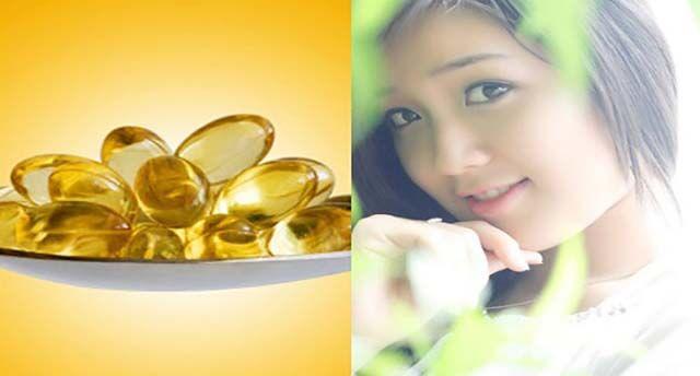 Dưỡng ẩm môi khô bằng vitaminE