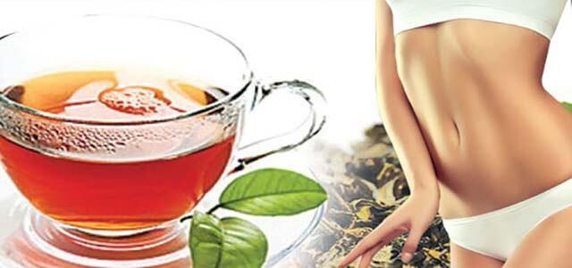 uống gì giảm mỡ bụng - trà xanh